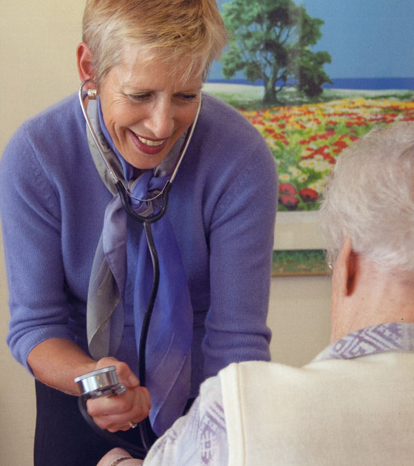 Geriatrie Altenheimversorgung