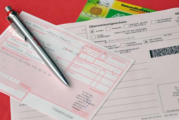 Information Rezepte und Überweisungen